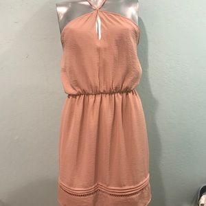 Nordstroms : LUSH - blush colored dress